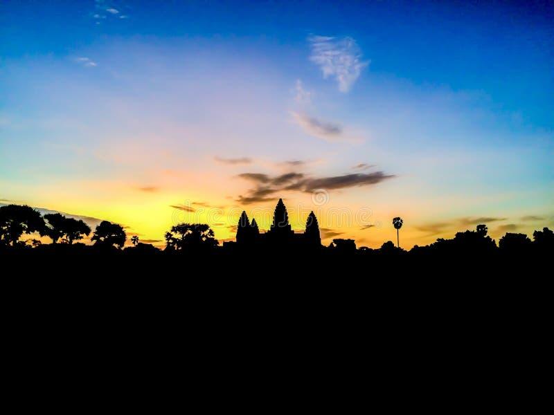 Angkor watt fotografering för bildbyråer