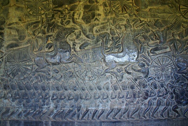 Angkor watttempel royaltyfria bilder