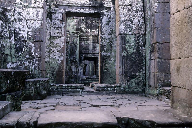angkoren cambodia fördärvar fotografering för bildbyråer