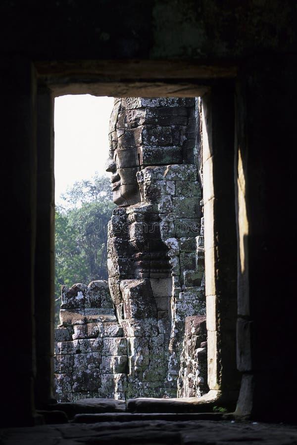 angkoren cambodia fördärvar wat royaltyfri fotografi