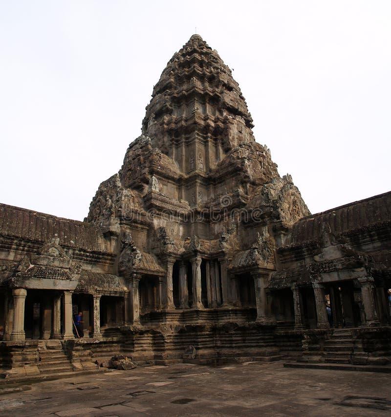angkoren skördar siemwat royaltyfri foto