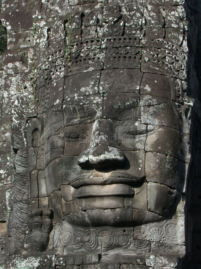 Download Angkorframsida arkivfoto. Bild av fromhet, hemslöjd, monument - 37692