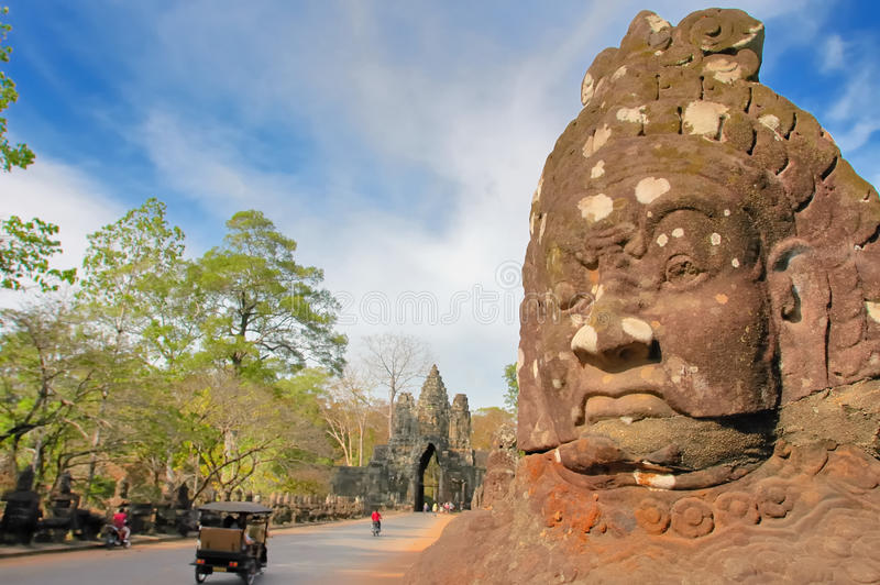 AngkorWat fotografia stock