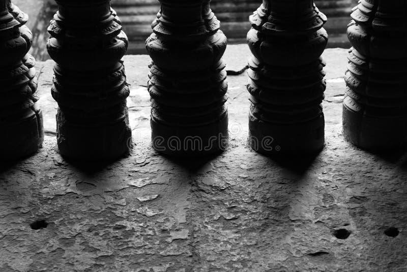 angkorwatfönster fotografering för bildbyråer