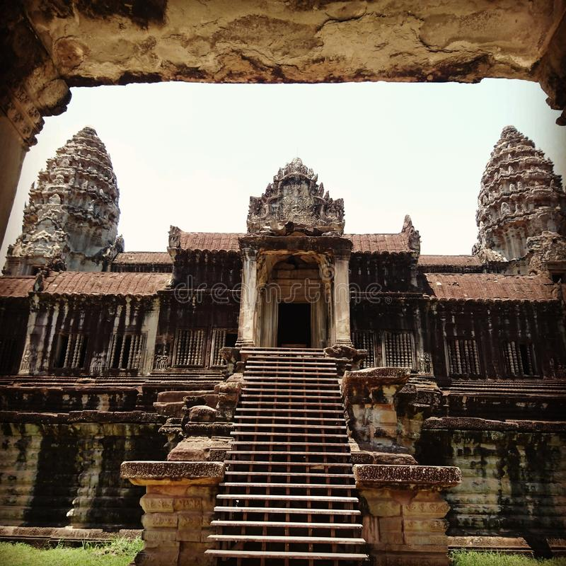 Angkorwst 图库摄影