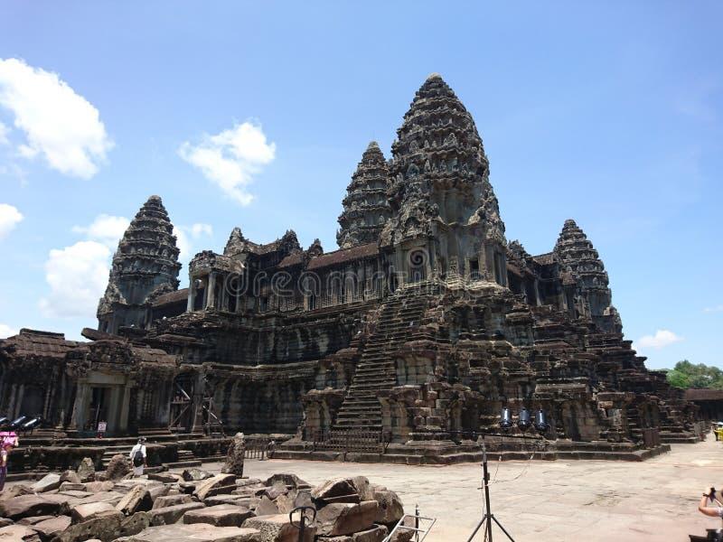 Angkorwst 免版税库存照片