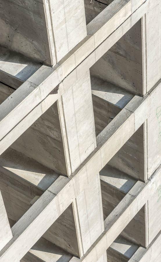 Angle abstrait d'un garage photo libre de droits