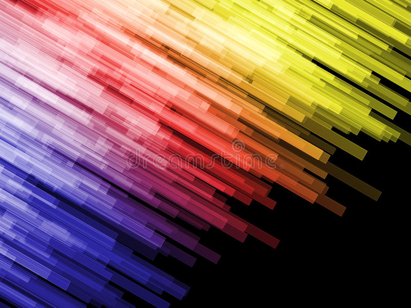 Angle color bars royalty free stock image