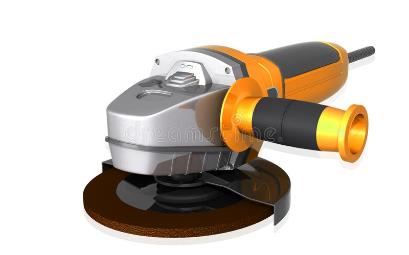 Download Angle Grinder Stock Photo - Image: 15587040