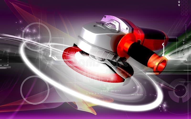 Download Angle grinder stock illustration. Image of dimensional - 21142590