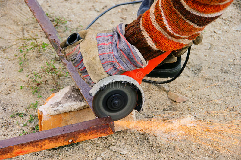 Download Angle Grinder Stock Photo - Image: 29135330