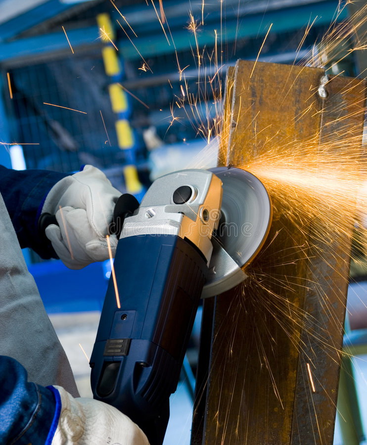 Free Angle Grinder Royalty Free Stock Photography - 3049907