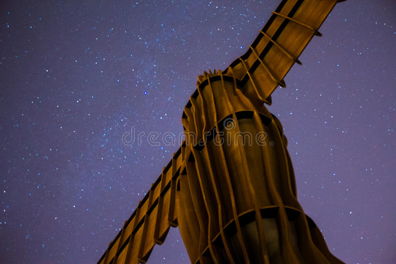 Angel of the North. royalty free stock image