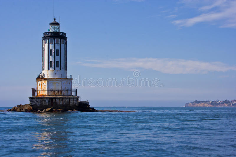 Angle's Gate Lighthouse stock images