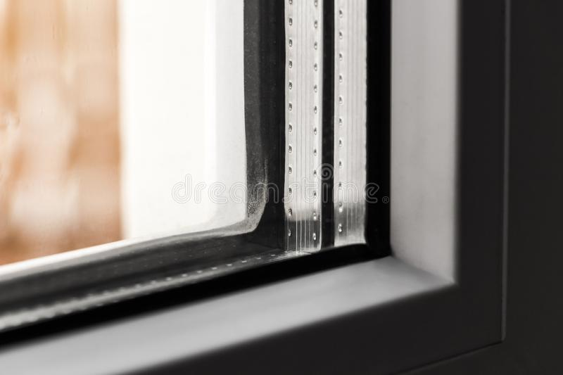 The angle of the window royalty free stock photo