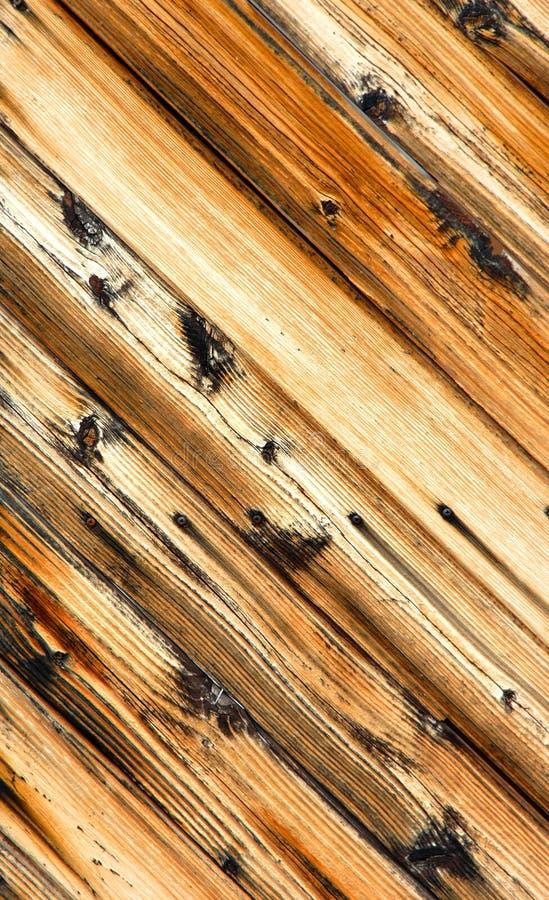 Angled деревянная дверь стоковое фото