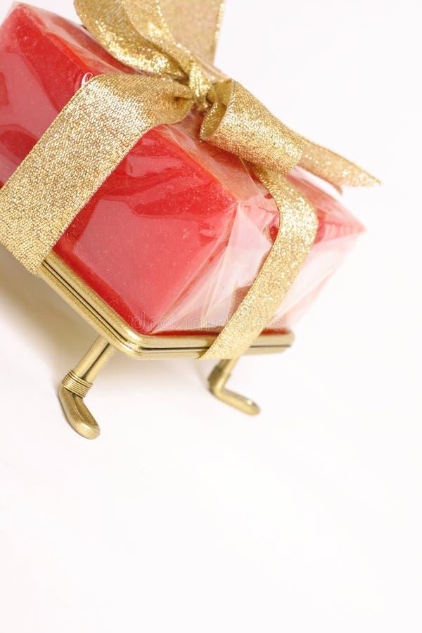 angled подарок стоковое изображение rf