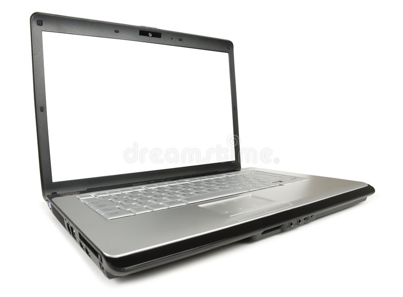 Download Angled Classic Laptop stock photo. Image of business, computers - 4684524