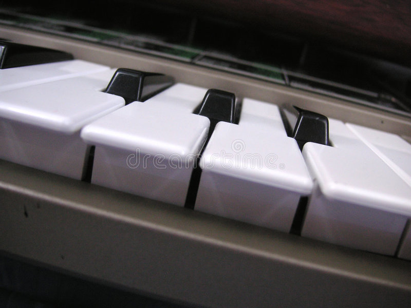 Download Angled keyboard stock photo. Image of electric, keys, black - 225506