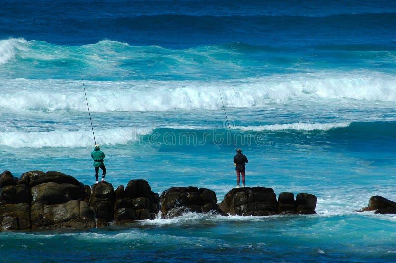 Angler stockfoto