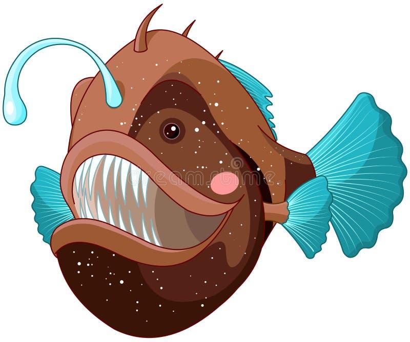 Angler Fish royalty free illustration