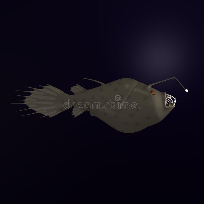 Anglerfish stock illustratie