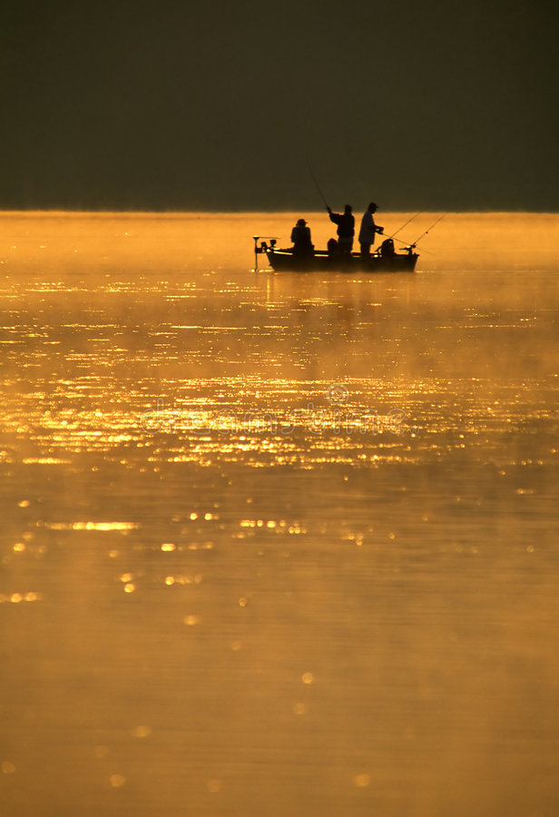 Download Anglers Fishing stock photo. Image of mist, fishermen, background - 894486