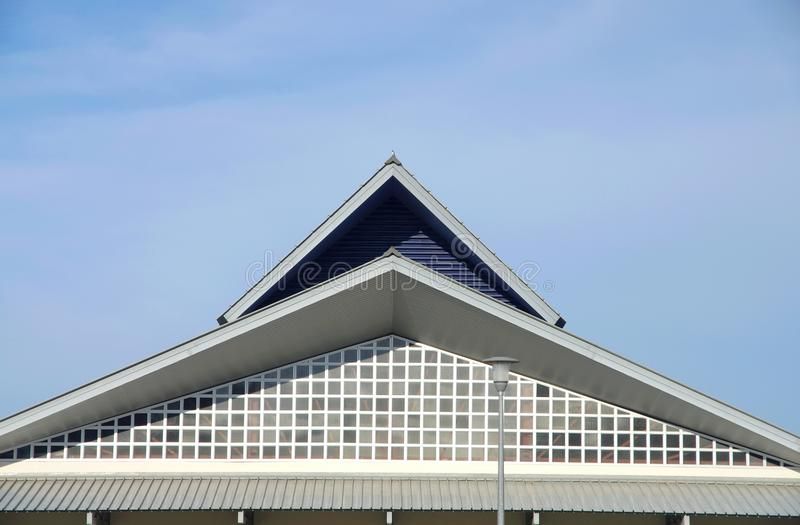 Angles Of Roofs Royalty Free Stock Photography