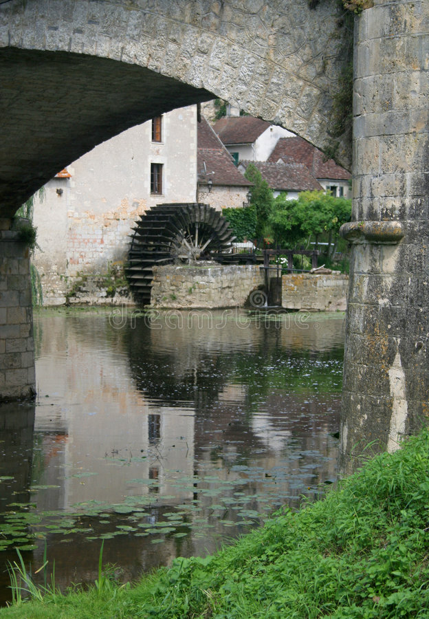 Download Angles-sur-Anglin stock image. Image of europe, france - 8548345