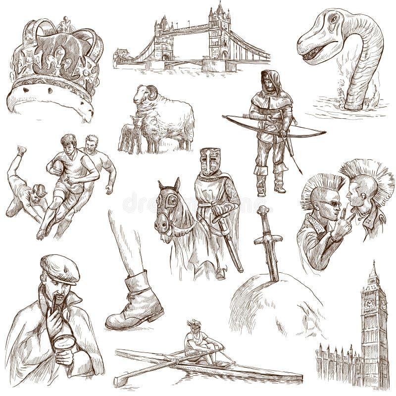 Anglia - 2 royalty ilustracja