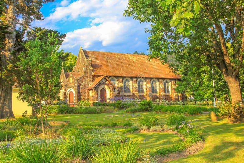 Anglicaanse Kerk Knysna stock fotografie