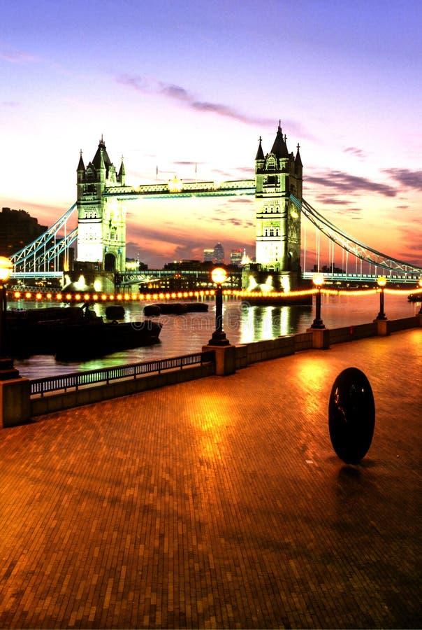 Anglii na most London obrazy stock