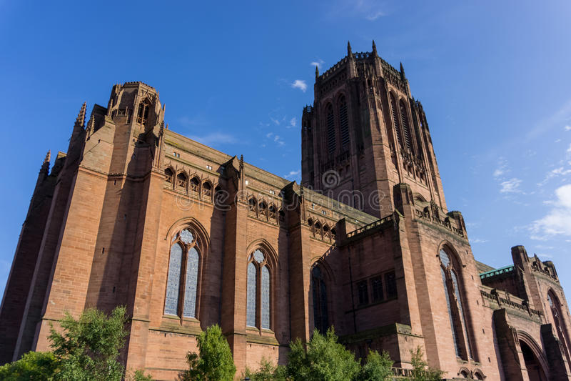 Anglikanische Kathedrale, Liverpool stockfotografie