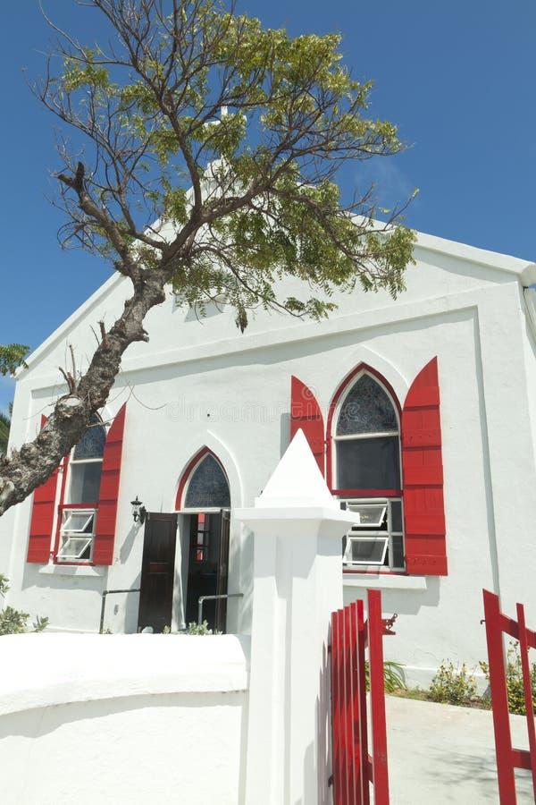 Anglikanische Kirche, großartige Türke-Insel, karibisch lizenzfreies stockbild