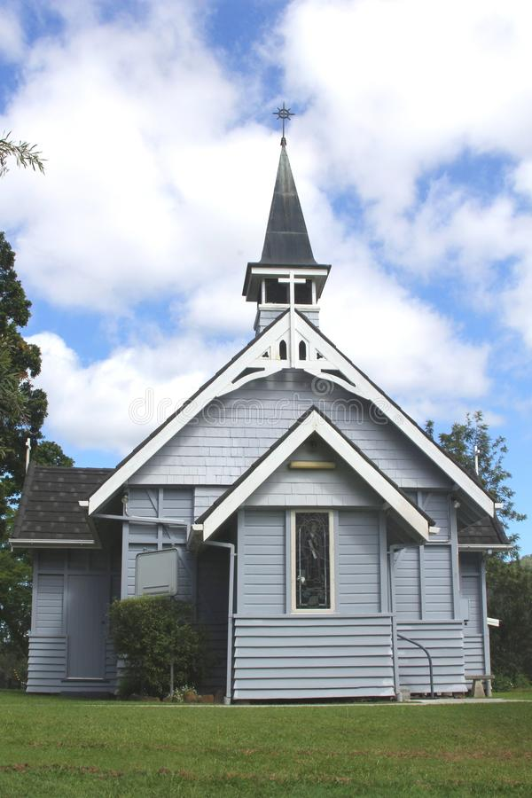 Anglikansk kyrka i Queensland royaltyfria bilder