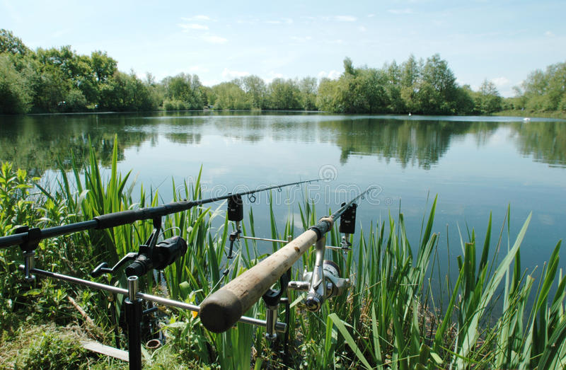 angling immagine stock