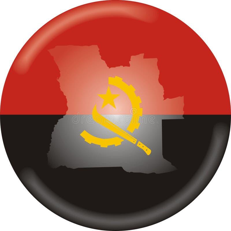 Angola ilustração do vetor