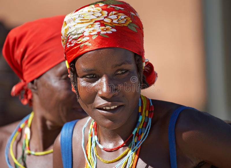angolan kvinnor royaltyfri bild