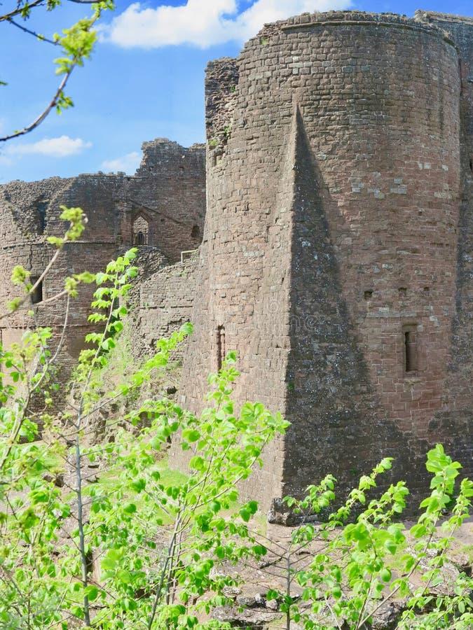 Angolo del castello immagini stock