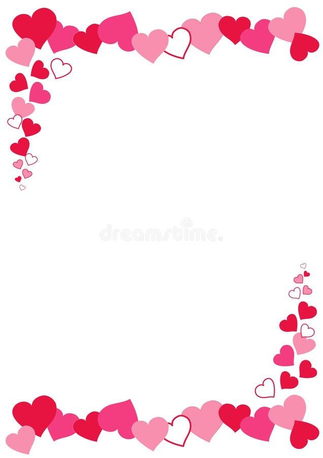 Angolo del cuore royalty illustrazione gratis
