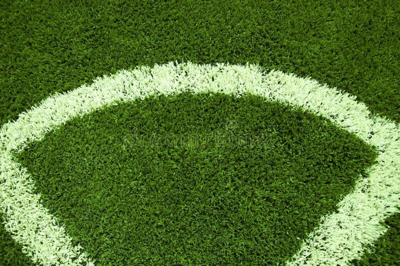 Angolo di calcio immagini stock