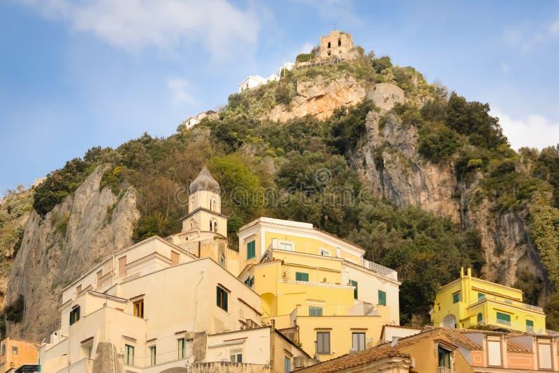 Angolo pittoresco Amalfi L'Italia immagine stock libera da diritti