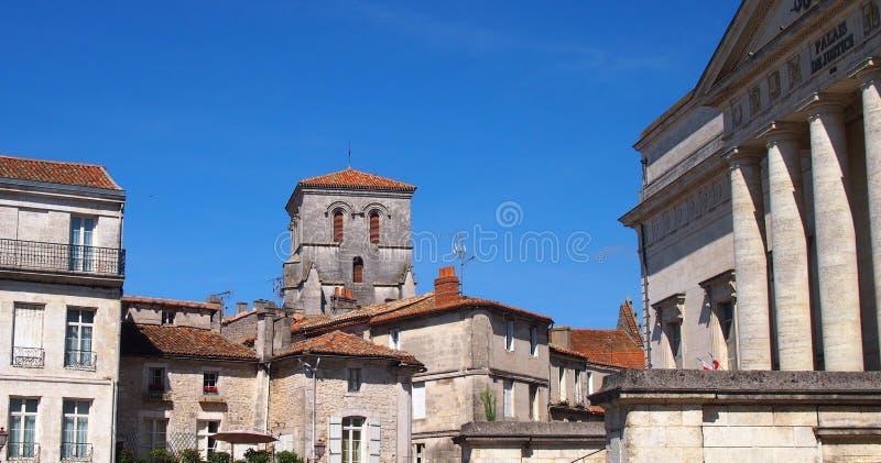 Angouleme, νοτιοδυτική Γαλλία στοκ φωτογραφίες