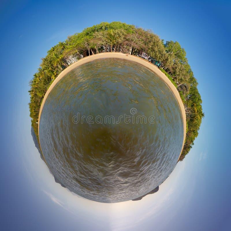 Angra da palma em Austrália fotos de stock