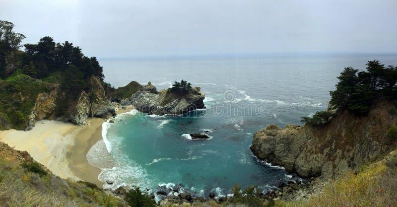Angra da porcelana da praia de Califórnia imagens de stock royalty free