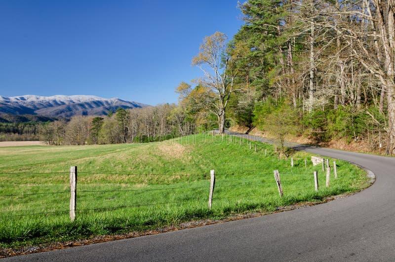 Angra de Cades, Great Smoky Mountains imagens de stock