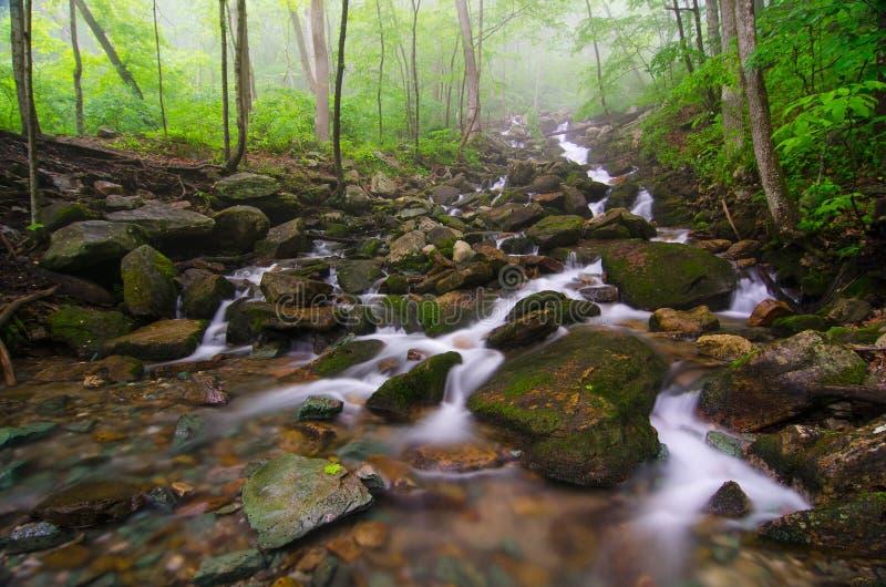 A angra de Gap conecta, parque nacional de Cumberland Gap fotos de stock