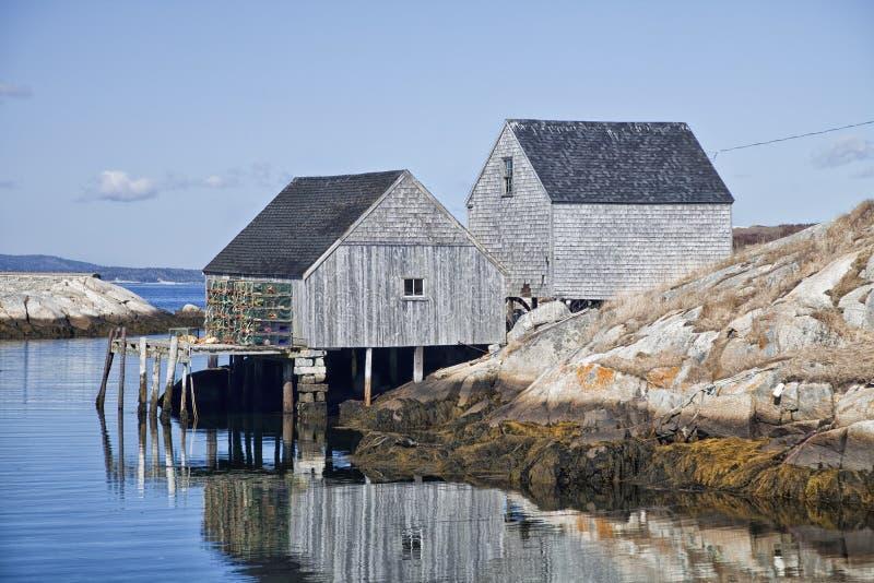 A angra de Peggy, Nova Escócia imagens de stock royalty free