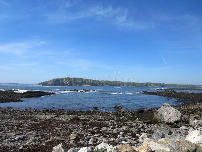 Angra de Ryefield na ilha dos picos foto de stock royalty free