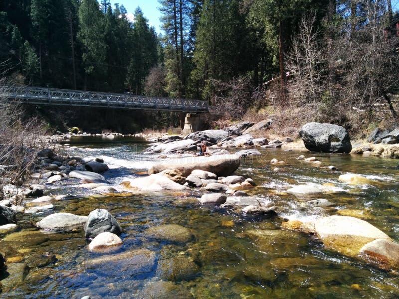 Angra de Tahoe em Califórnia do norte fotografia de stock royalty free